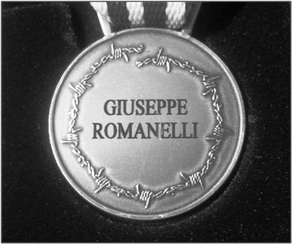 romanelli giuseppe medaglia d'onore