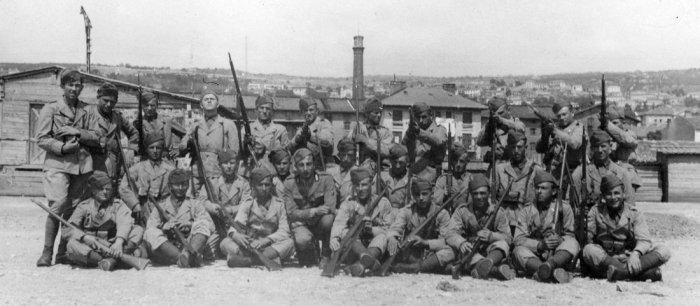 foto di gruppo anni 1941-42 x email