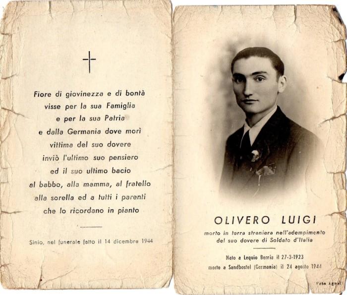 olivero luigi santino