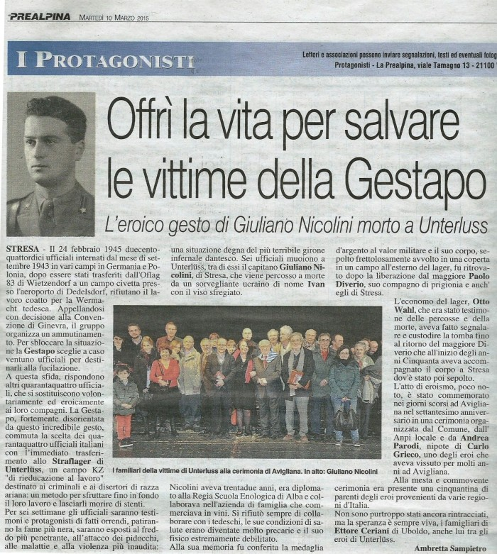 Prealpina 10.3.15 Giuliano Nicolini