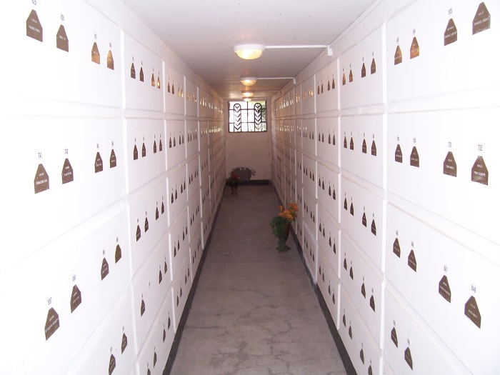Mausoleo destro (foto Diego Tonelli)
