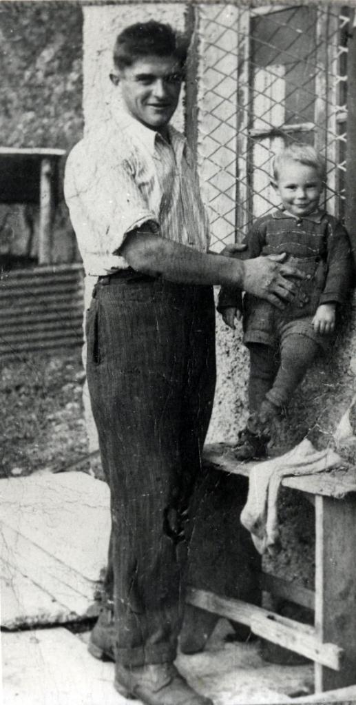 Roso Pietro con il figlio Silvano