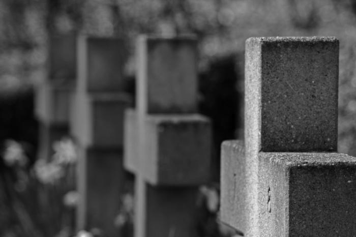 Croci nel Cimitero di Ladelund