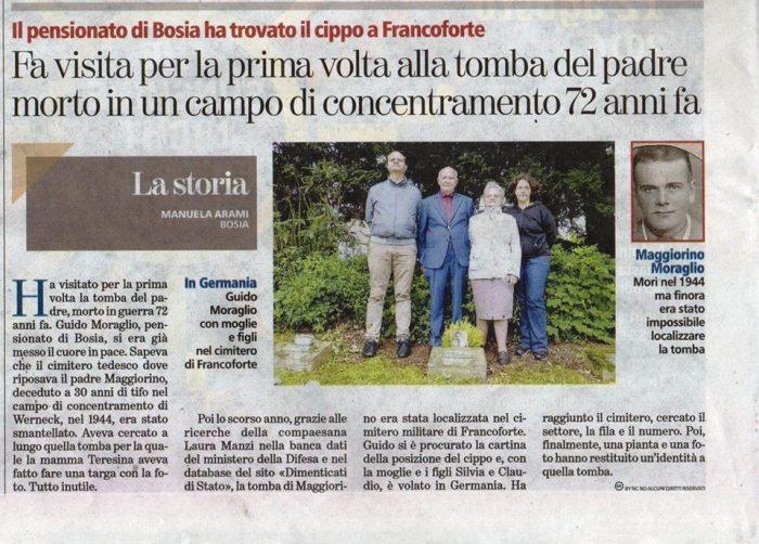 La Stampa di Cuneo